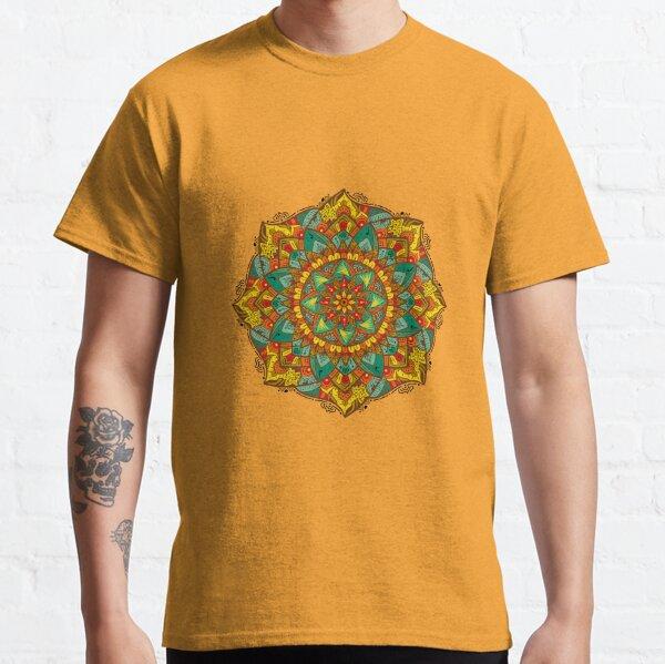 Mandala bloom Camiseta clásica
