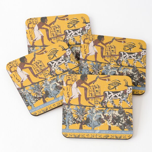 About Egypt Coasters (Set of 4)