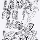 Happy New Year 2012 to all Friends of RB  by Pascale Baud