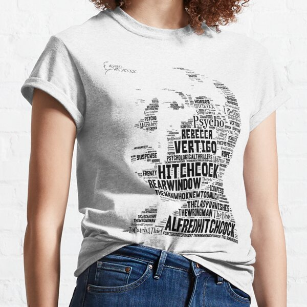 Alfred Hitchcock 2 - In words Classic T-Shirt