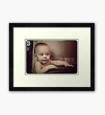 Conor  :) Framed Print