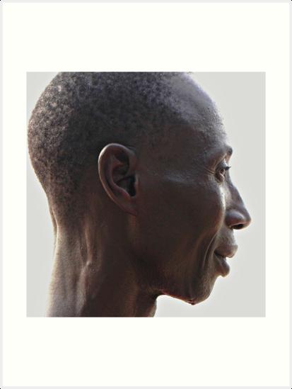 Gambian Man by Eileen O'Rourke