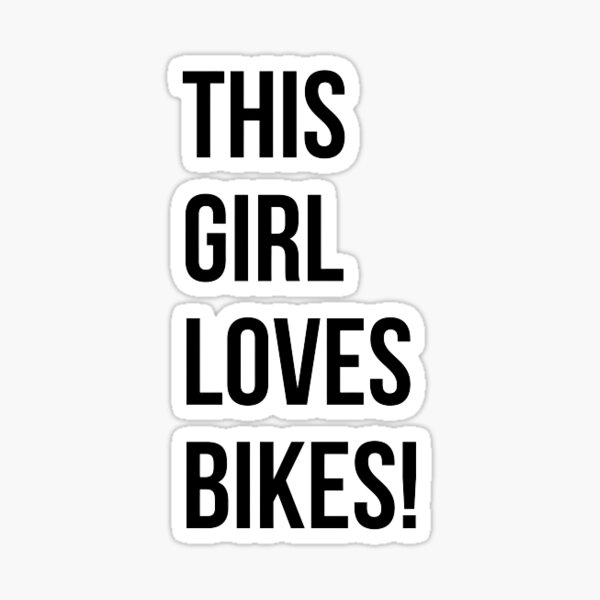 Biker and Motorcycle Quote Sticker