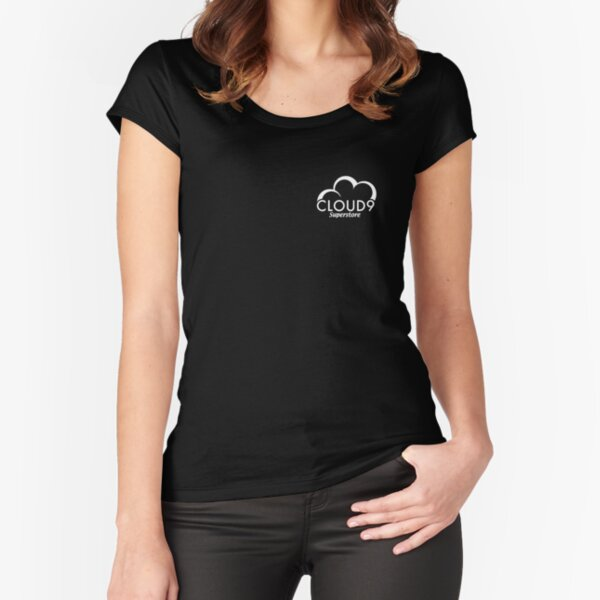 Cloud 9 Superstore Fitted Scoop T-Shirt