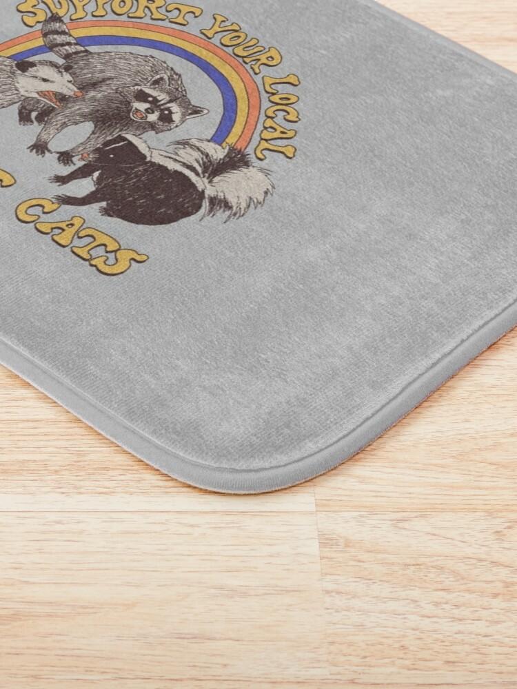 Alternate view of Street Cats Bath Mat