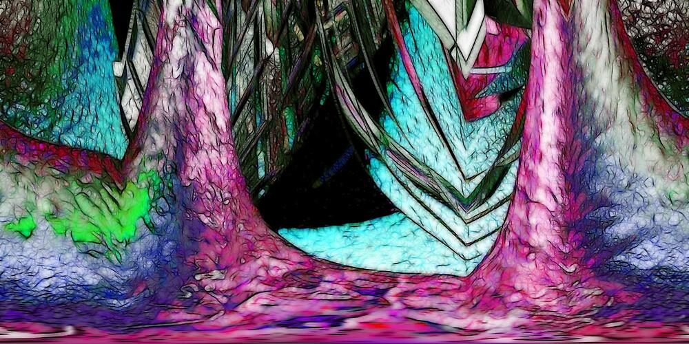 Three Doors Down by Benedikt Amrhein