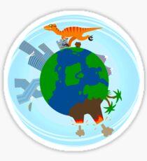 Velocity-raptor Sticker