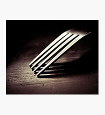 ''Fork'' Photographic Print