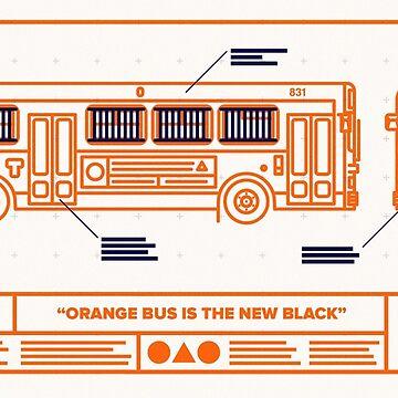 Orange Bus is the New Black by zeddhead