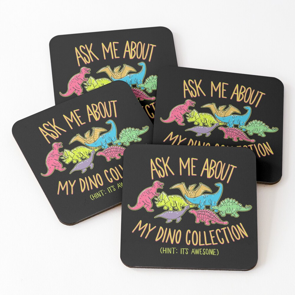Dino Collection Coasters (Set of 4)