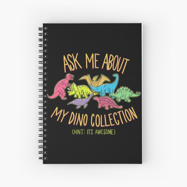 Dino Collection Spiral Notebook