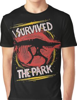 I survived the park Graphic T-Shirt