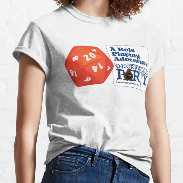 A Role Playing Adventure Classic T-Shirt