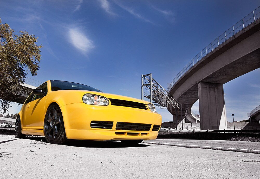 Imola Yellow GTI by sullyshah