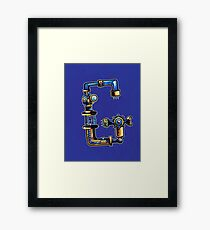 G is for Gear Head Framed Print
