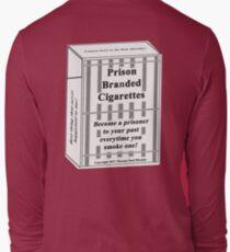 Prison Branded Cigarettes Long Sleeve T-Shirt