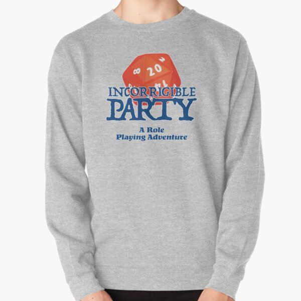 A Role Playing Adventure - Text logo  Pullover Sweatshirt