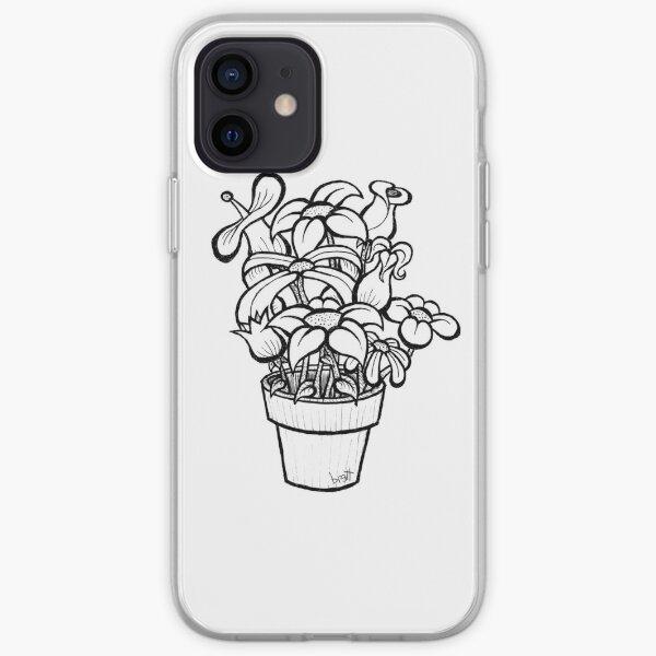 Flower Pot iPhone Soft Case