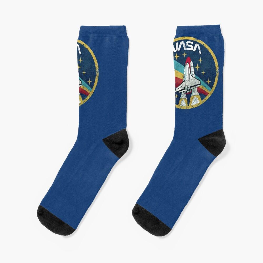 Nasa Vintage Colors V01 Socks