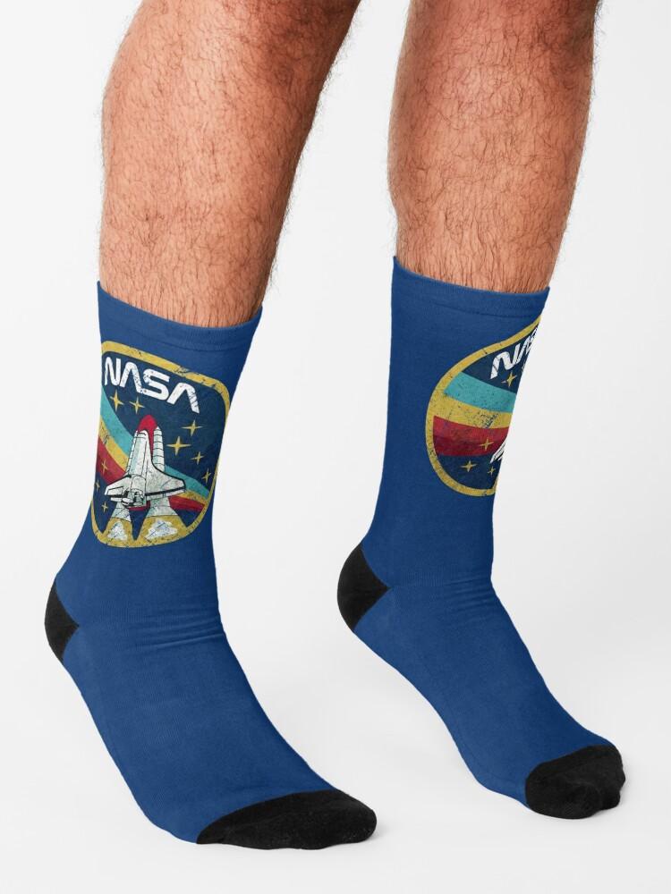 Alternate view of Nasa Vintage Colors V01 Socks