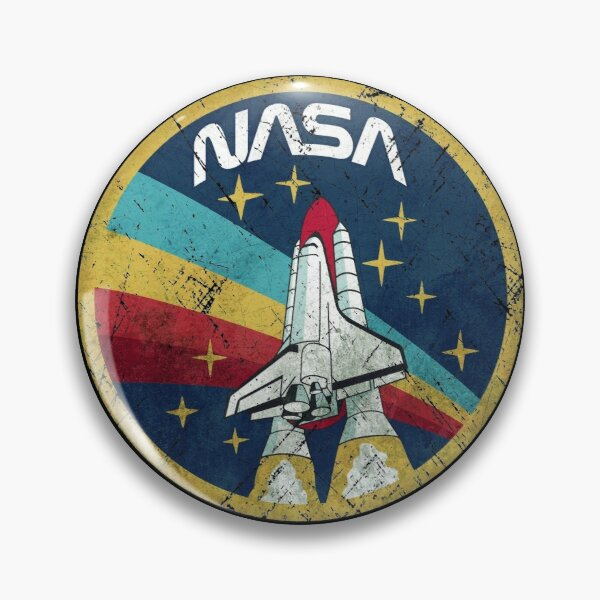 Nasa Vintage Colors V01 Badge