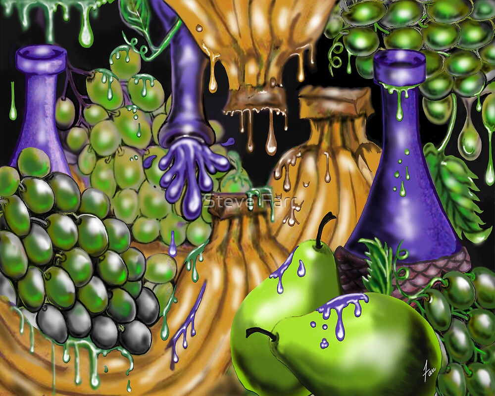 """""""Grapes, Bananas, & Pears....Oh My!!!"""" by Steve Farr"""