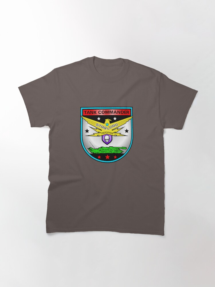 Alternate view of Tank Commander Trooper Classic T-Shirt