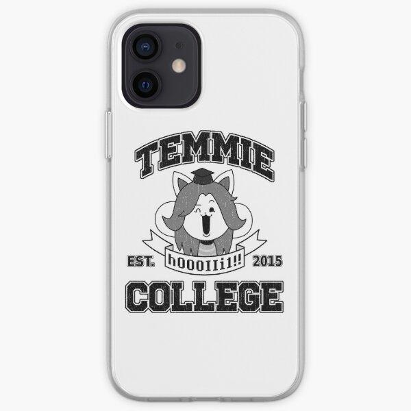 Temmie College iPhone Soft Case