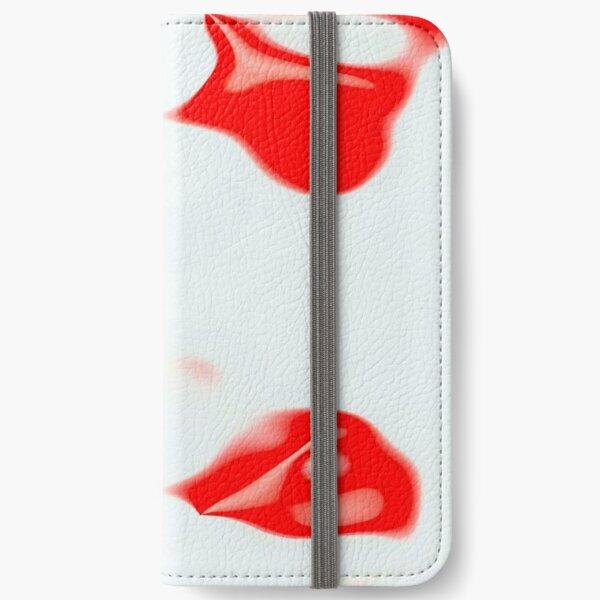 Gebrochene Herzen 2 iPhone Flip-Case