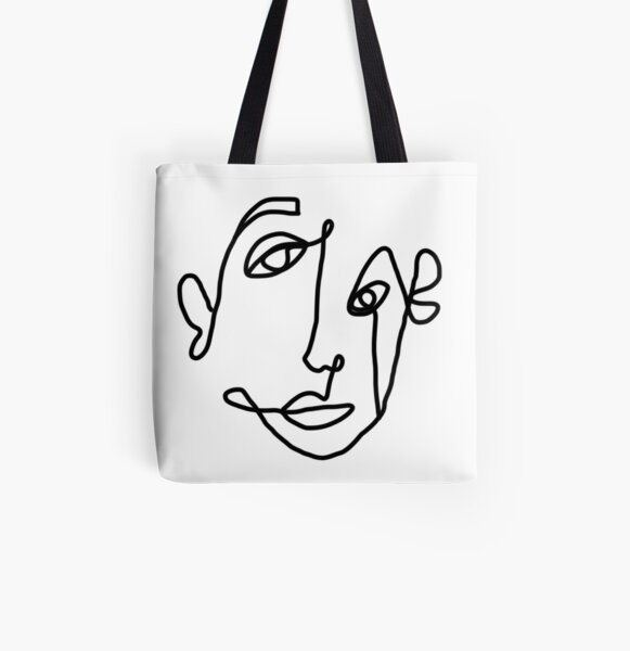 FACE All Over Print Tote Bag