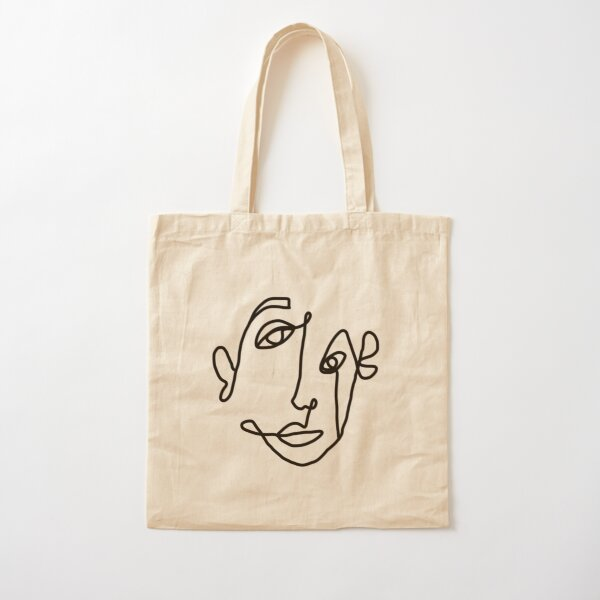 FACE Cotton Tote Bag