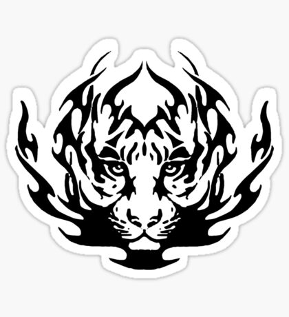 the tiger Sticker