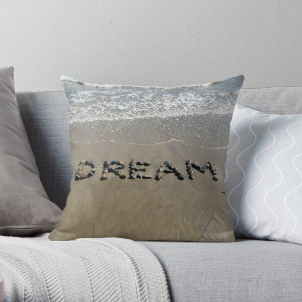 Dream Beach Wish Throw Pillow