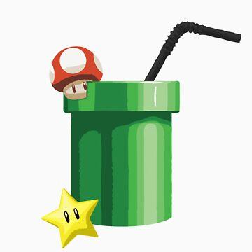 Mario Drink by verm
