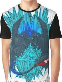 Game of Dragons - HTTYD2/GoT (With Text) Graphic T-Shirt