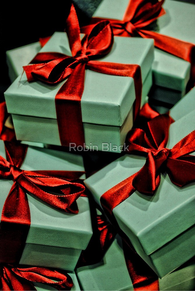 Tiffany's Boxes by Robin Black