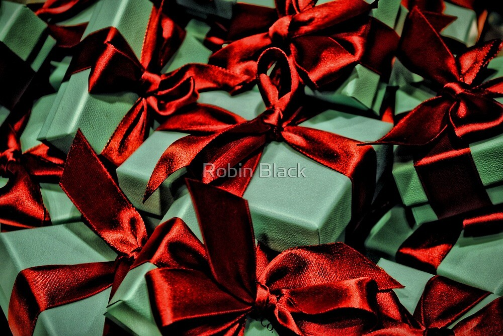 Tiffany's Boxes 2 by Robin Black
