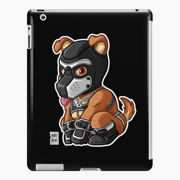 PLAYFUL PUPPY - WHITE MASK - BEARZOO SERIES iPad Snap Case