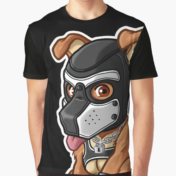 PLAYFUL PUPPY - WHITE MASK - BEARZOO SERIES Graphic T-Shirt