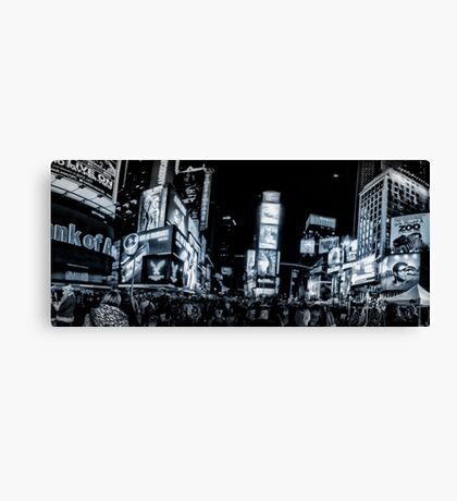 Times Square (b&w) 2 Canvas Print