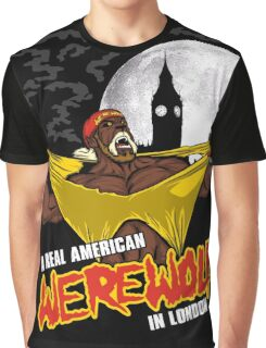 Real American Werewolf Graphic T-Shirt
