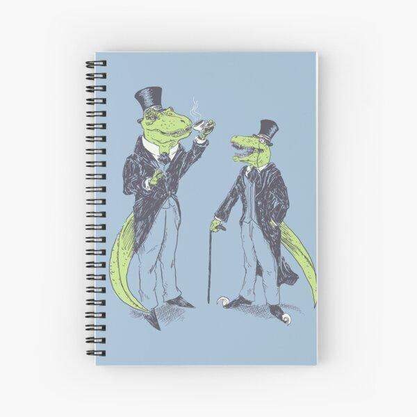 Tea Rex and Velo Sir Raptor Spiral Notebook