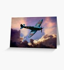 The Supermarine Spitfire, Hero of the Battle of Britain Greeting Card