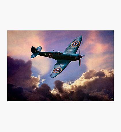 The Supermarine Spitfire, Hero of the Battle of Britain Photographic Print