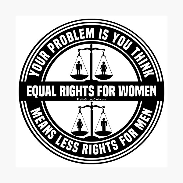 Equal Rights For Women Photographic Print
