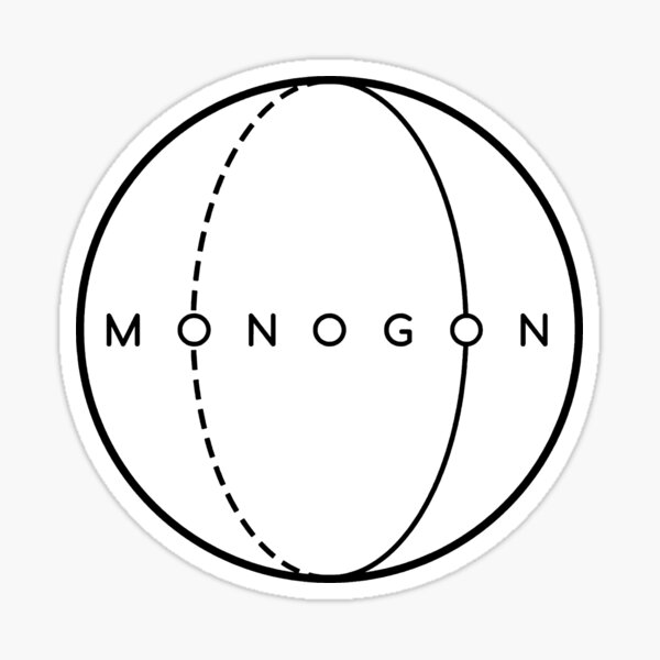 Monogon Sticker