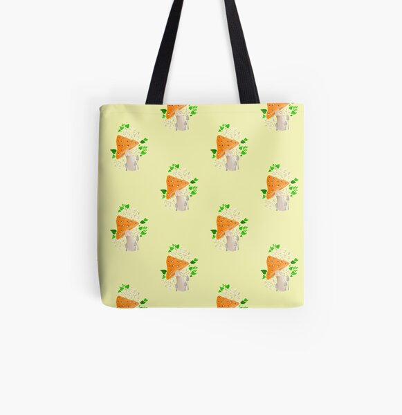Eye mushroom All Over Print Tote Bag