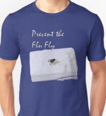 Prevent the Flu Fly Unisex T-Shirt