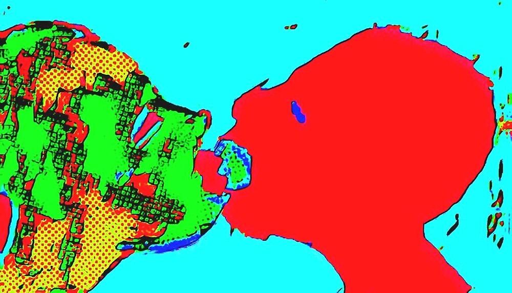 When We Kiss by paulvolker
