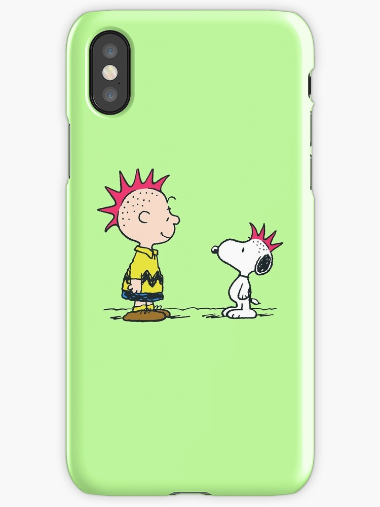 Charlie Brown & Snoopy - Punk by WinterSong